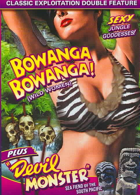WILD WOMEN DOUBLE FEATURE:BOWANGA BOW BY WILSON,DAN (DVD)